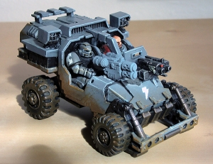 Cougar Attack Buggy (work in progress)