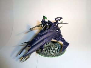 Dark Eldar Venom conversion commission