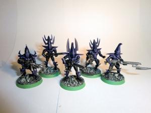 Dark Eldar Kabalite Warriors commission