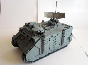 Space Marines - Damocles Command Rhino (work in progress)