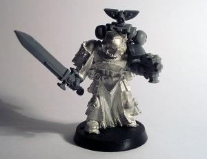 Veteran with Power Sword (WIP)