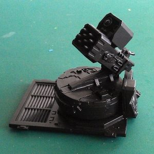 Anti-aircraft platform - work in progress