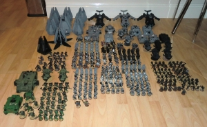All of my Space Marines - click to enlarge
