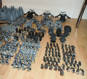 Scouts, Tacticals and Sternguard - click to enlarge