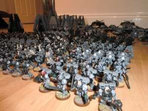 Redeemers Infantry close up - click to enlarge