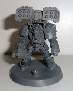 Terminator with Cyclone Missile Launcher - work in progress
