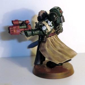 Dark Angels Sergeant - click to enlarge