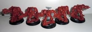 Deathwing Terminators - work in progress