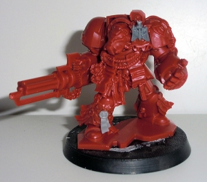 Deathwing Terminator with Assault Cannon - click to enlarge
