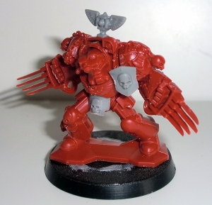 Deathwing Terminator with Lightning Claws - click to enlarge