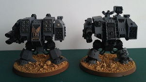 Dreadnoughts - work in progress