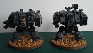 Dreadnoughts - work in progress