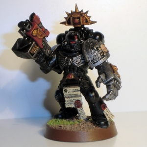 Deathwatch Captain (stand-in for Pedro Kantor) - work in progress