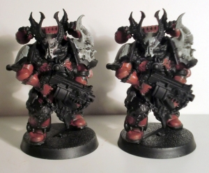 Chosen Chaos Space Marines - click to enlarge