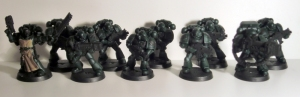 Dark Angels Tactical Squad - click to enlarge