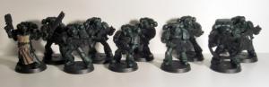 Dark Angels Tactical Squad - click to enlarge