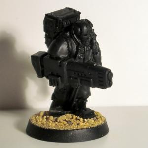 Gun Servitor with Plasma Gun - click to enlarge