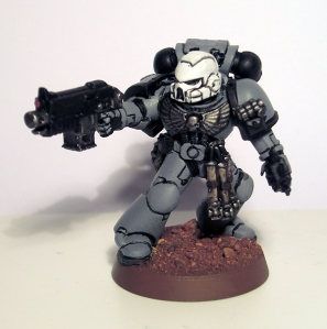 Sternguard Veteran Space Marine - click to enlarge