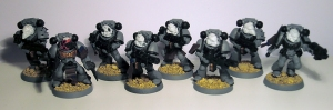 Sternguard Veteran Space Marine unit - click to enlarge