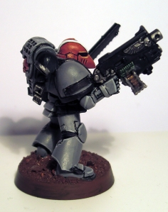 Sternguard Veteran Space Marine Sergeant - click to enlarge