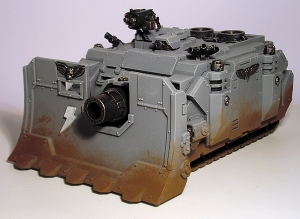 Space Marine Vindicator - click to enlarge