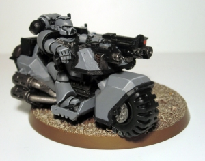 Space Marine Attack Bike - click to enlarge