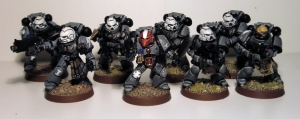 Sternguard Veteran Space Marines - click to enlarge
