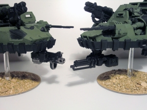 Magnetised Heavy Bolter and Assault Cannon - click to enlarge
