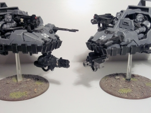 Magnetised Multi-melta and Heavy Bolter - click to enlarge