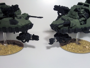 Magnetised Multi-melta and Heavy Flamer - click to enlarge