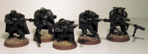 Space Marine Scouts - click to enlarge