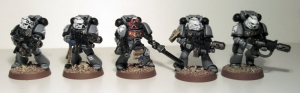 Space Marine Sternguard Veterans - click to enlarge