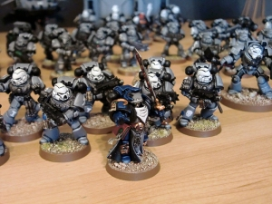 Sternguard Veterans and Librarian - click to enlarge