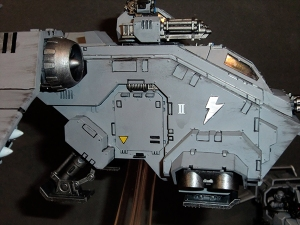 Stormraven Gunship - click to enlarge