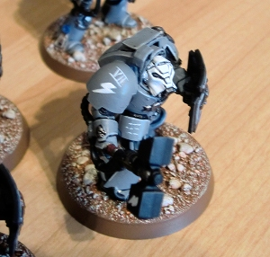 Assault Terminator with metal plate - click to enlarge