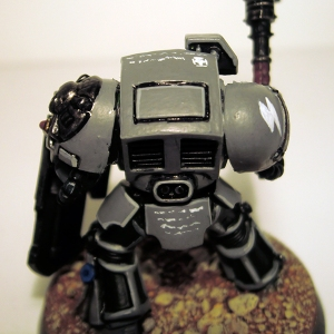 Assault Terminator Sergeant detail - click to enlarge
