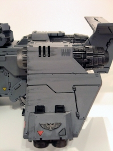Stormraven with weathering - click to enlarge