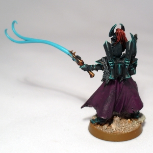 Archon with Splinter Pistol and Agoniser - click to enlarge