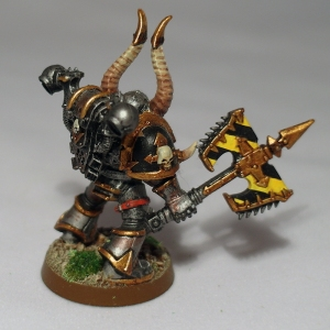 Iron Warriors Khorne Berzerker - click to enlarge