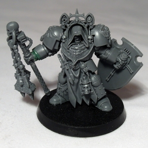 Deathwing Terminator with Flail - click to enlarge