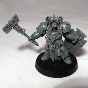 Deathwing Terminator with Thunder Hammer - click to enlarge