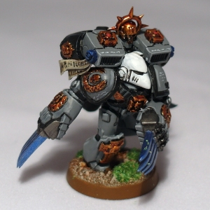 Lord Commander Neophron (Captain Shrike counts-as) - click to enlarge