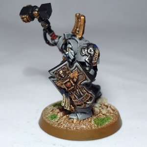 Terminator Captain with Thunder Hammer and Storm Shield - click to enlarge