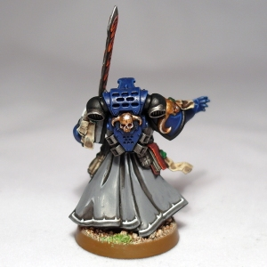 Space Marine Librarian - click to enlarge