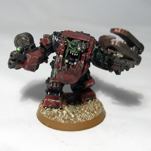 Ork Warbos in Mega Armour - click to enlarge
