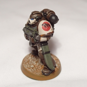 Wolf Claws Space Marine - click to enlarge