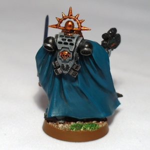 Space Marine Captain with Plasma Pistol and Power Sword - click to enlarge