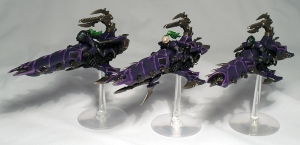 Classic Dark Eldar Reavers - click to enlarge