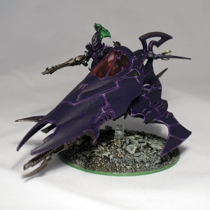 Converted Dark Eldar Venom - click to enlarge