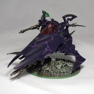 Converted Dark Eldar Venom - click to enlarge